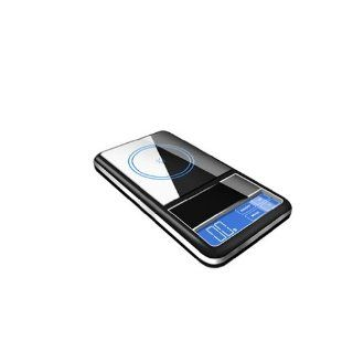 AMPUT @Digital Touch Screen Mini Pocket Scale Counting, Jewelry Gram Weighing Balance, Gem Carat Scale 0.01g 200g with a Keychain