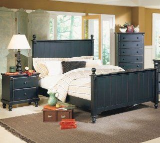 Queen Bed of Pottery Collection by Homelegance Home & Kitchen