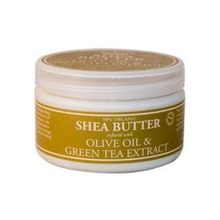 Nubian Heritage Olive Green Tea Infused Shea Butter 4 oz Beauty