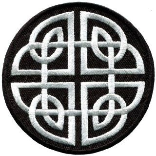 Celtic Knot Irish Goth Biker Tattoo Wicca Magic Applique Iron on Patch New S 599 Handmade Design From Thailand: Everything Else