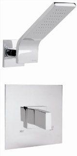 "Altmans VK42SPC Vertika 1/2"" Pressure Bal. Shower Set w/Stops Polished Chrome   Bathtub And Showerhead Faucet Systems"