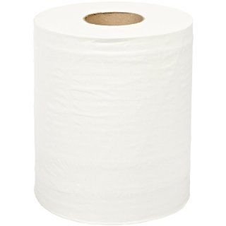 "SCA Tork 121201 2 Ply Recycled Fiber Advanced Centerfeed Hand Towel Roll, 590' Length x 9"" Width, White (6 Rolls of 600 Sheets) Paper Towels Industrial & Scientific"