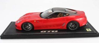 FERRARI 599 GTO RED Resin Model in 118 Scale by BBR Toys & Games