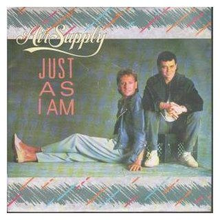 "JUST AS I AM 7"" (45) UK ARISTA 1985 B/W CRAZY LOVE(ARIST623) SLIGHT RINGWEAR TO PIC SLEEVE: Music"