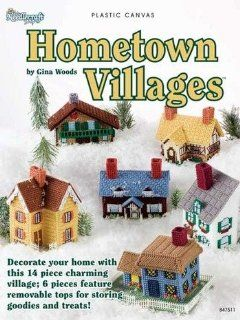 Hometown Villages   Plastic Canvas Patterns