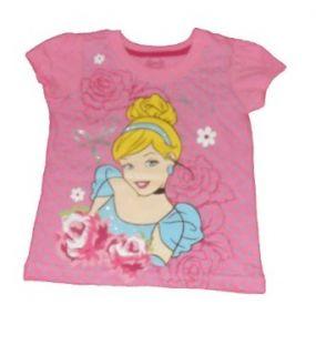Disney Baby girls Cinderella Polka Dot Shirt Tee Clothing