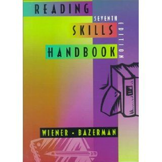 Reading Skills Handbook: Harvey S. Wiener: 9780395776414: Books