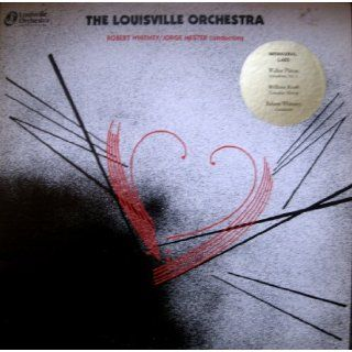 William Kraft Concerto Grosso / Walter Piston Symphony # 5; Louisville Orchestra LP vinyl L 653 William Kraft, Walter Piston, Robert Whitney, Louisville Orchestra Music