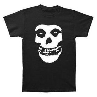 Misfits Fiend Skull T shirt: Clothing