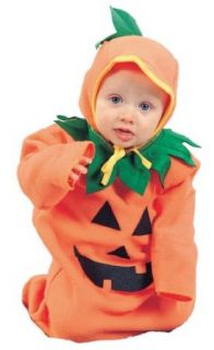 Baby Pumpkin Bunting Costume Size (Newborn to 8 Months) Toys & Games