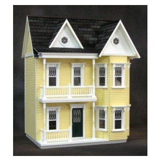 Dollhouse Finished Princess Anne Dollhouse Yellow Toys & Games