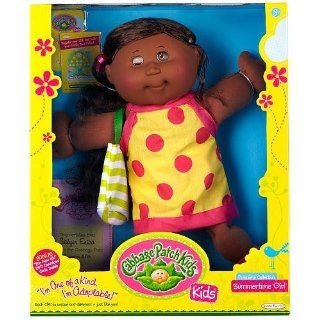 """Cabbage Patch Kids Doll African American Premiere Collection """"Summertime Girl"""""""
