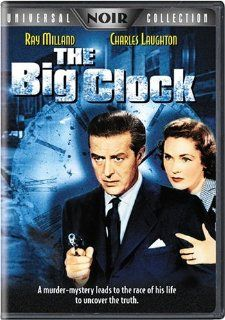 The Big Clock (Universal Noir Collection): Ray Milland, Charles Laughton, Maureen O'Sullivan, George Macready, John Farrow: Movies & TV