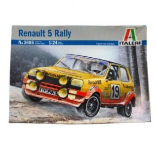 Italeri Renault 5 Rally Model Kit: Toys & Games