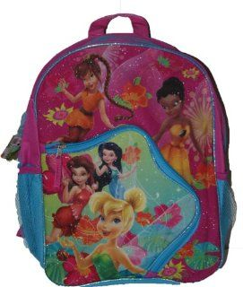 Disney Fairies 16 inch backpack Girls back to school bag with Tinkerbell: Toys & Games