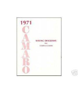 1971 CHEVROLET CAMARO Wiring Diagrams Schematics