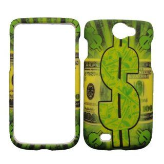 Samsung Exhibit II 2 4G 4 G T679 T 679 Green $100 One Hundred Dollar Money Bill Design Snap On Hard Protective Cover Case Cell Phone: Cell Phones & Accessories