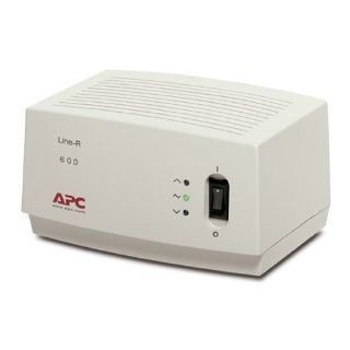 Beige APC 600VA Automatic Voltage Regulator, 6.5 Feet, 4 Outlets, 680 Electronic Component Cables Industrial & Scientific
