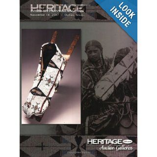 Heritage American Indian Art Auction Catalog #681 9781599671819 Books