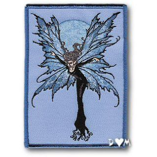 Amy Brown Luna Sprite Moon Fairy Faery Embroidered Patch