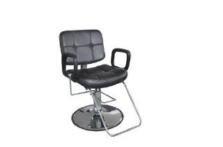 Exacme Reclining Hydraulic Barber Chair Salon Beauty Spa Shampoo Black 9837 : Hair Shampoos : Beauty