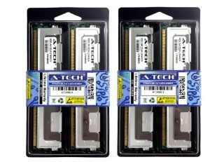 32GB Kit (4x8GB) Fully Buffered Memory Ram for DELL SERVERS AND WORKSTATIONS. Dell PowerEdge 1900 1950 1950 III 1955 2900 2900 III 2950 2950 III M600 R900 SC1430 T110 PowerVault NF500 NF600 NX1950 Workstation 690 (750W Chassis) Precision Workstation 490 Pr