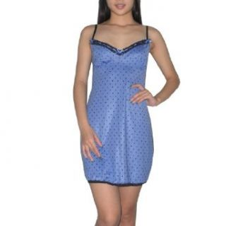 Marilyn Monroe Womens Unpadded Bra Chemise Intimate Apparel Small Blue & Black