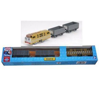 Thomas & Friends Trackmaster Railway System: Diesel 10 & 2 Cars: Toys & Games