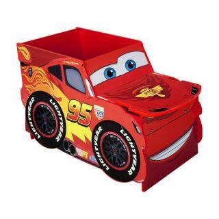 Disney Cars Lightning McQueen Toy Box