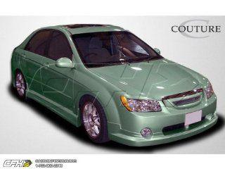 2005 2006 Kia Spectra Couture FX Body Kit   4 Piece   Includes FX Front Lip Under Spoiler Air Dam   Polyurethane (104799) FX Rear Lip Under Spoiler Air Dam   Polyurethane (104801) FX Side Skirts Rocker Panels   Polyurethane (104800) Automotive
