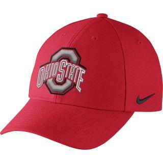 NIKE Mens Ohio State Buckeyes Dri FIT Wool Classic Adjustable Cap   Size