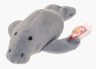 TY Beanie Baby   MANNY the Manatee (4th Gen hang tag) Toys & Games