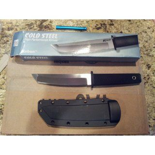 Cold Steel 17T Kobun Tanto Fixed : Tactical Fixed Blade Knives : Sports & Outdoors