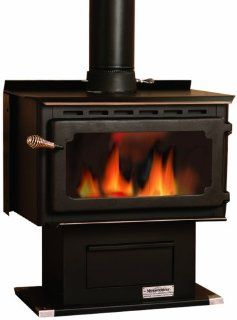 Vogelzang VG650ELG Mountaineer Wood Stove with Blower   Wood Burning Stove