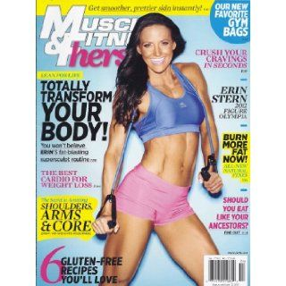 Muscle & Fitness Hers Magazine (March/April 2013 (Erin Stern Cover)): Mona Muresan: Books