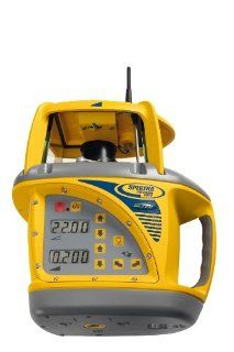 Spectra Precision GL722 Dual Slope Grade Laser With Long Range Radio Remote   Rotary Lasers