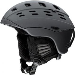 Smith Optics Unisex Adult Variant Snow Sports Helmet (Matte Black, Small)  Snowboarding Helmets  Clothing