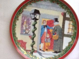 Dept 56 Dickens Village Christmas Carol Collectible Plate  Commemorative Plates
