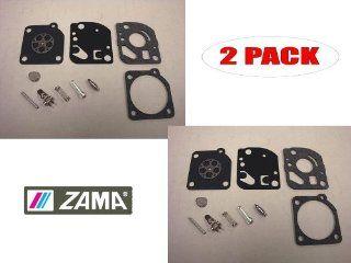 Genuine Zama RB 76 Carburetor Repair Kit for Efco 8300 8350 8400 Oleo Mac 730 735 740 (2 Pack)