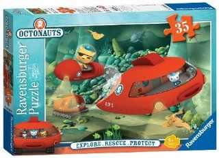 Octonauts   Gup X To The Rescue   35 Piece Jigsaw Puzzle: Toys & Games