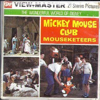 Mickey Mouse Club Mouseketeers 3d View Master 3 Reel Packet   Includes 16 Page Illustrated Booklet Toys & Games