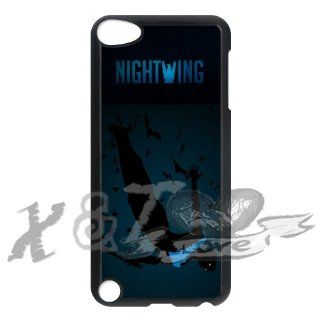 Nightwing X&TLOVE DIY Snap on Hard Plastic Back Case Cover Skin for iPod Touch 5 5th Generation   755: Cell Phones & Accessories