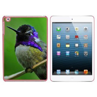 Hummingbird Violet Purple Head   Humming Bird Snap On Hard Protective Case for Apple iPad Mini   Pink: Computers & Accessories