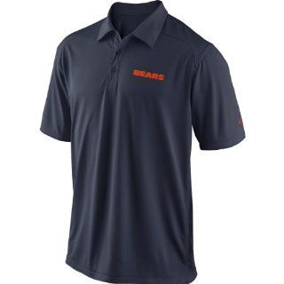 Nike Chicago Bears Coaches Performance Polo   Blue  Polo Shirts  Sports & Outdoors
