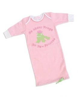 Mud Pie Baby Little Princess So Many Frogs Sleeper Infant And Toddler Sleepers Clothing