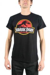 Jurassic Park Logo Adult Men's T Shirt Tee Novelty T Shirts Clothing