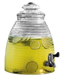 Circleware Beehive Glass Beverage Dispenser   Beverage Dispensers