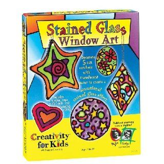 Creativity for Kids Stained Glass Window Art Toys & Games