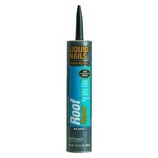 Liquid Nails RR 808 High Temperature Adhesive Roof Repair, 10.1 oz Cartridge, Black Industrial Sealants Industrial & Scientific