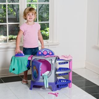 American Plastic Toys My Very Own Laundry Center   Pretend Play & Dress Up at